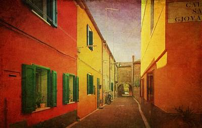 Photograph - Another Morning In Malamocco by Anne Kotan