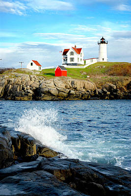 Another Nubble Art Print by Greg Fortier