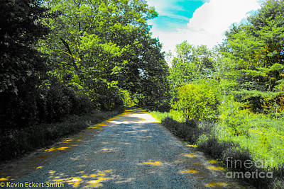 Appleton Photograph - Another October Road by Kevin Eckert Smith