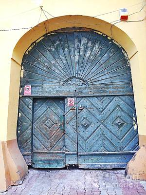 Photograph - Another Old Door  by Erika H