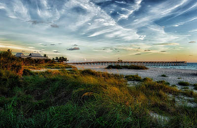 Southwest Florida Sunset Photograph - Another Perfect Day Comes To A Close by Frank J Benz