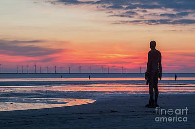 Antony Gormley Photograph - Another Place by Martin Williams