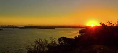 Photograph - Another Pretty Sunset Over Sydney by Miroslava Jurcik