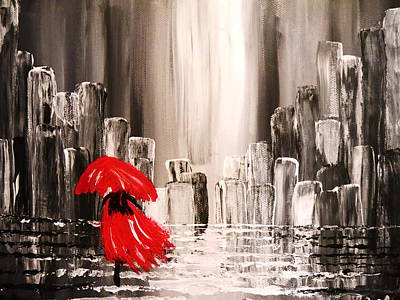Painting - Another Rainy Day by Bernd Hau