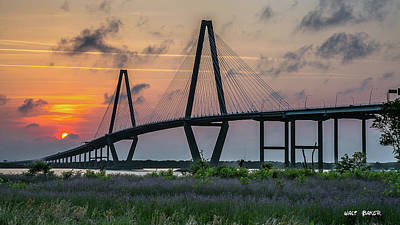 Photograph - Another Ravenel Sunset by Walt Baker
