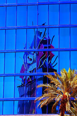 Another Rio Reflection Art Print by Richard Henne