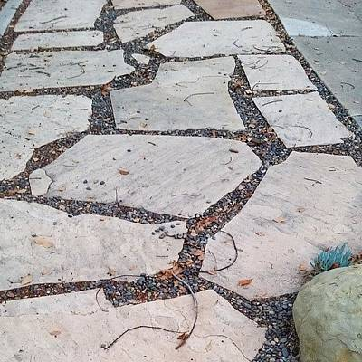 Pathway Photograph - Another Stone #pathway by Lisa Marchbanks