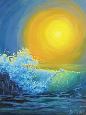 Painting - Another Sun by Karen Ilari