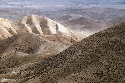 Another View From Masada Art Print by Dubi Roman