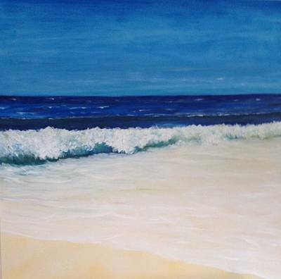 Painting - Another Wave by Chuck Gebhardt