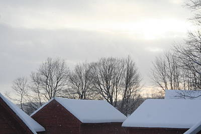 Photograph - Another Winter Barnscape by Aggy Duveen