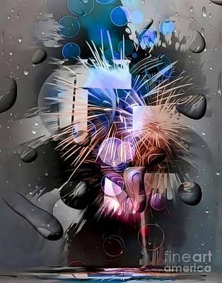 Digital Art - Another World By Nico Bielow by Nico Bielow