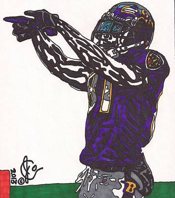 Anquan Boldin 1 Original by Jeremiah Colley