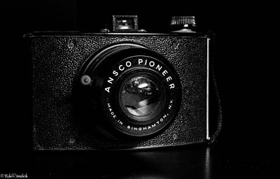Ansco Photograph - Ansco Pioneer Camera by Mike Ronnebeck