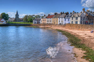 Anstruther Photograph - Anstruther Beach Scene by Gerry Greer