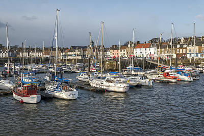 Photograph - Anstruther's Marina by Jeremy Lavender Photography