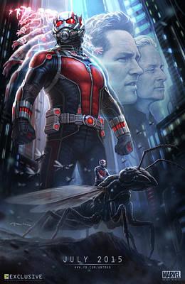 Ant Digital Art - Ant Man 2015 by Caio Caldas