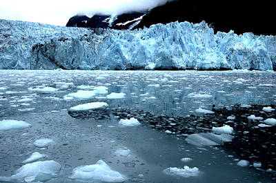 Photograph - Antarctic Ice Flow by Bill Williams