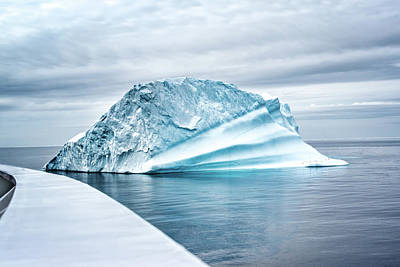 Photograph - Antarctic Iceberg by Maria Coulson