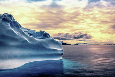 Photograph - Antartica Colors by Maria Coulson