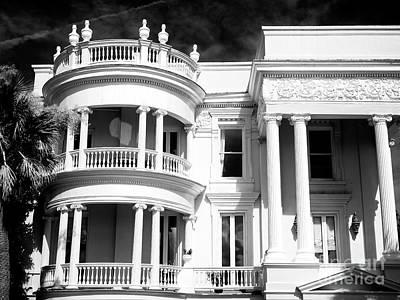 Photograph - Charleston Antebellum Home by John Rizzuto