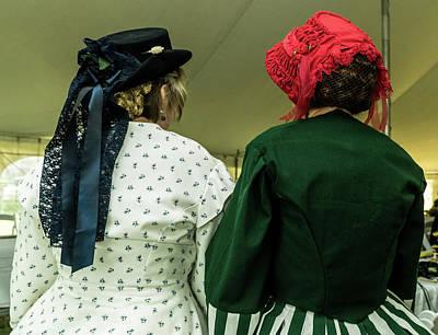 Photograph - Antebellum Ladies In Conversation by Douglas Barnett