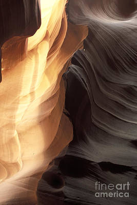 Photograph - Antelope Canyon 5 by Stan and Anne Foster