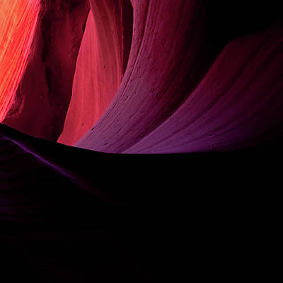 Photograph - Antelope Canyon Abstract  by Gregory Ballos