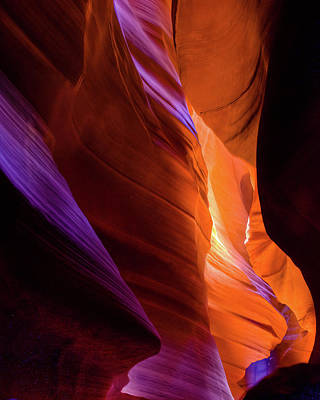 Photograph - Antelope Canyon Color by Harry Strharsky