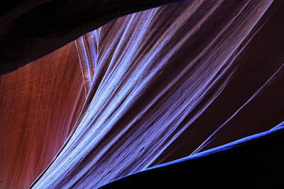 Photograph - Antelope Canyon I by Peter OReilly