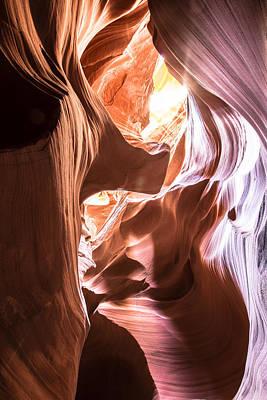 Photograph - Antelope Canyon Page Az by John McGraw
