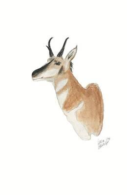 Painting - Antelope Mount by Sara Stevenson