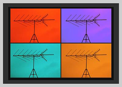 Digital Art - Antenna Pop 1 by Ed Cilley