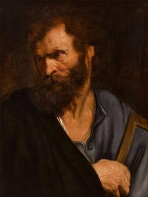 Old Man Painting - Anthonie Van Dyck by MotionAge Designs