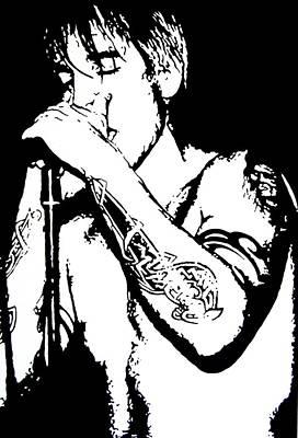 Tattoos Painting - Anthony - Rhcp by Dan Carman
