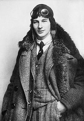 Painting - Anthony Fokker, Age 22, 1912. Wwi Ace Knight Of The Air by Celestial Images