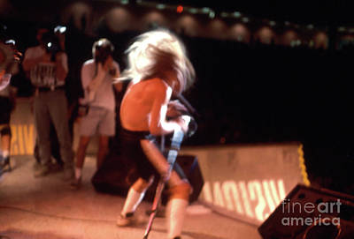 Photograph - Anthony Kiedis Of  The Red Hot Chili Peppers From 1988 Skate Escape by Gregory Dyer