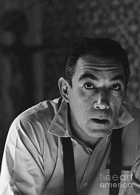 Photograph - Anthony Quinn by Photo Researchers