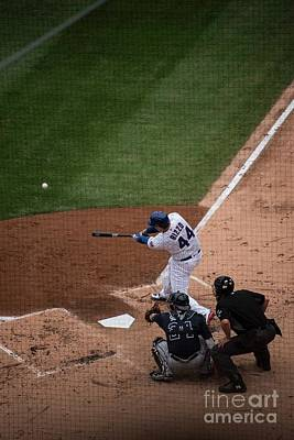 Photograph - Anthony Rizzo by David Bearden