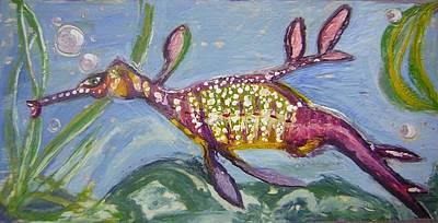 Anthropomorphic Sea Dragon 2 Art Print