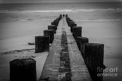 Photograph - Anti Erosion Piers by Dale Powell