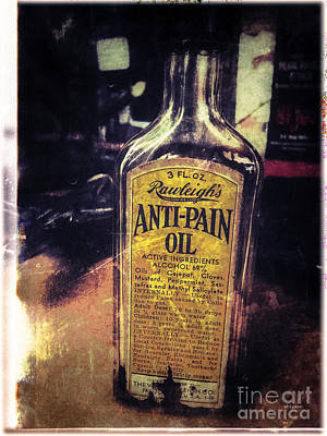Anti-pain  Art Print by Steven Digman