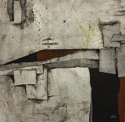 Black Mixed Media - Anticipate  by Laura  Lein-Svencner