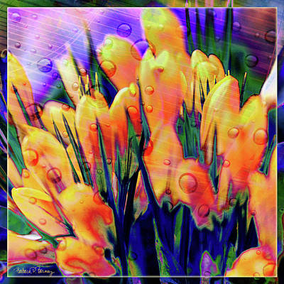 Digital Art - Anticipating Spring by Barbara Berney