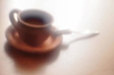 Anticipation Of Coffee Art Print by larisa Fedotova