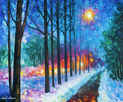 Anticipation Of Spring  Art Print by Leonid Afremov
