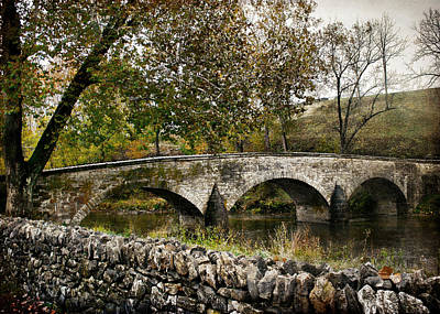 Photograph - Burnside's Bridge Over Antietam Creek by Kathleen Scanlan