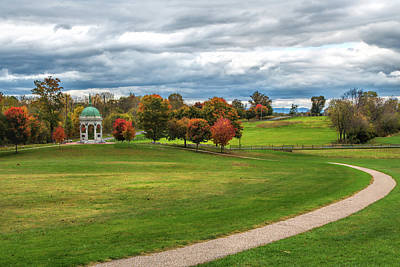 Photograph - Antietam Maryland State Monument by John M Bailey