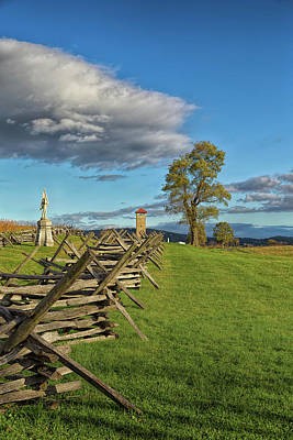 Photograph - Antietam Memorial by John M Bailey