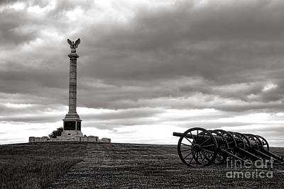 Maryland Photograph - Antietam Silence  by Olivier Le Queinec